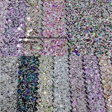 Chunky Glitter Synthetic Leather Fabric  for shoes handbags sofa  bows and DIY Accessoires Fabric PP975