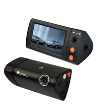 50% shipping fee 5 pieces Car Dvr GPS Touch screen 3.0'' LCD G-Sensor P7-S1 Camera blackbox Dual Lens H.264 1080P night vision(China)