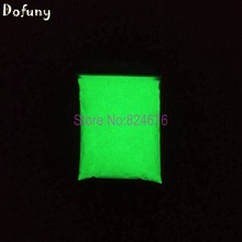 White Glowing Green Light luminous powder phosphor pigment,200g/bag,Noctilucent  Powder Glow in Dark  Dust Pigment for Paint