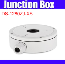 Original DS-1280ZJ-XS aluminum junction box for bullet camera high quality cctv bracket(China)