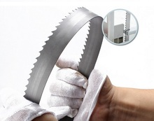Top quality 1650mm high speed steel saw blade,hack saw and frozen meat saw blades for meat saw machine
