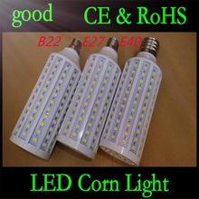 50pcs E27 B22 E40 30W 5050 Chips165 LED Corn Light Warm/White Bulb Maize Lamps Home Indoor Outdoor street lighting DHL Shipping(China)