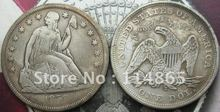 1859-S Seated Liberty Silver Dollar Coin COPY FREE SHIPPING