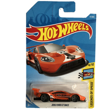 New Arrival 2018 8d Hot Wheels 1:64 red 2016 ford gt race Car Models Collection Kids Toys Vehicle For Children cars(China)
