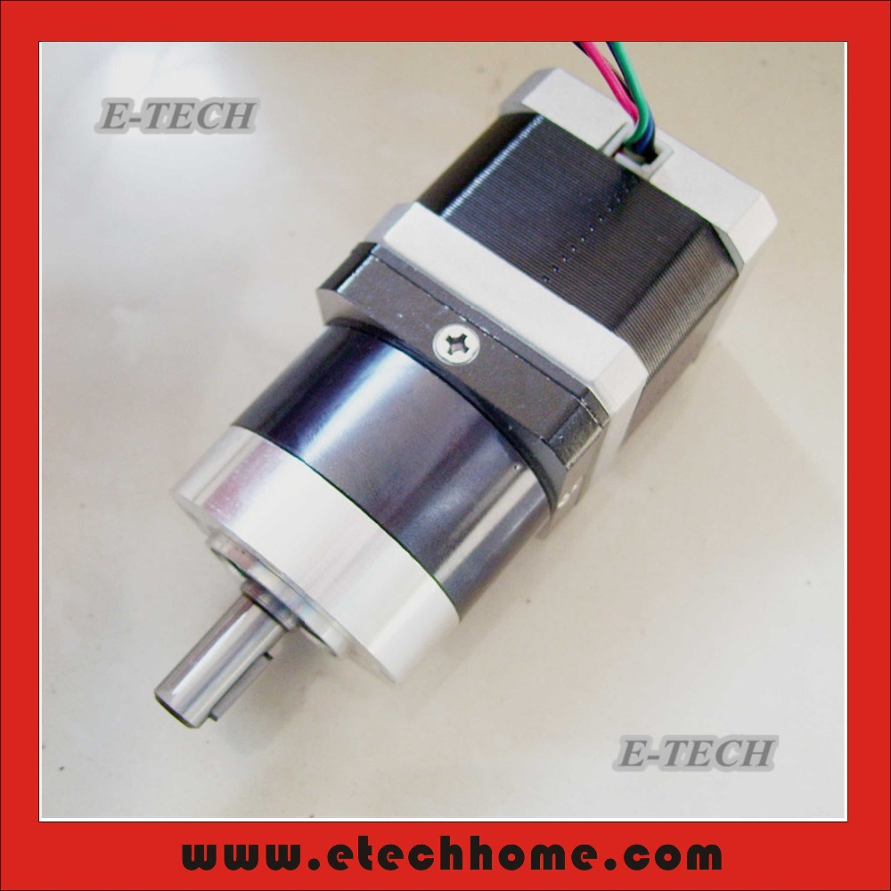 NEMA17 Planetary Gearbox Stepper Motor 333oz-in Gear Ratio 5:1 10:1 Motor Length 34mm CNC kit<br><br>Aliexpress