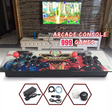 999 Retro Video Games All in One Double Stick Arcade Console Hot sale Pandora Box(China)