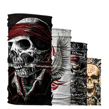 Magic Headband Death Knight Scarf Skull Skeleton Ghost Tactical Headwear Headband Motorcycle Neck Bandana Face Mask