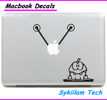 Curious Frog Cartoon Sticker for apple Macbook Skin Air 11 13 Pro 13 15 17 Retina Vinyl Decal Laptop Wall Car Logo Case