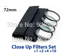 72mm MACRO Close-Up +1 +2 +4 +10 LENS Filter 72 mm Close Up for canon nikon pentax sony(China)