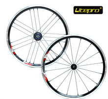 Litepro ultralite 960g 16/21h 20 inch 406 wheel set folding bike V brake wheelset bmx wheels bmx parts(China)