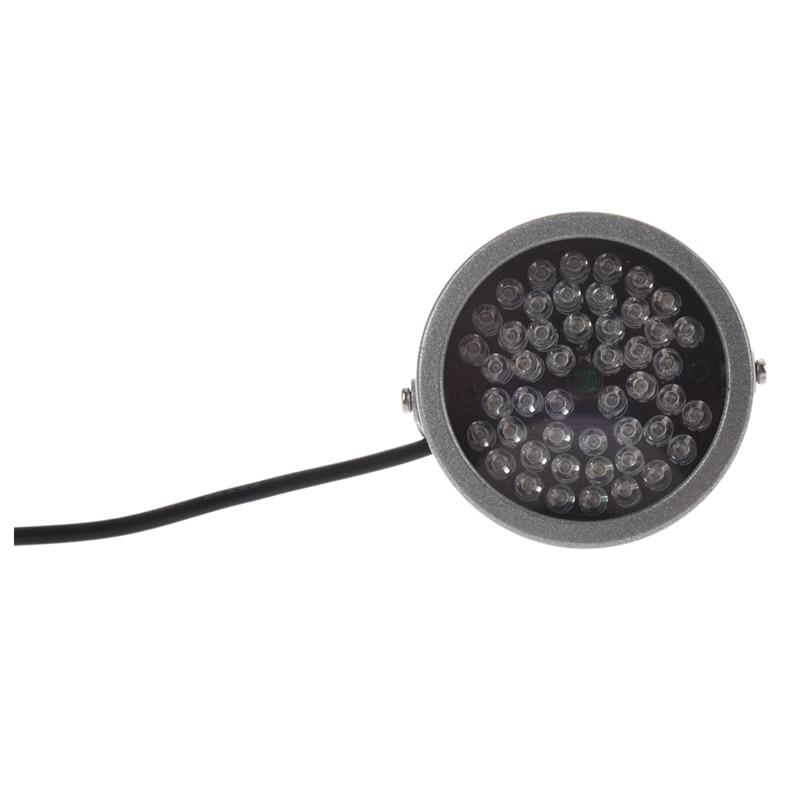 48 LED Illunator Licht IR LED Lampe Securit 850nm 12V CCTV IR Infrarot Nachtsicht Licht Fill Light