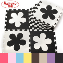 "Meitoku Flower baby EVA foam play Puzzle mat / 10pcs/lot Interlocking floor mat,Each 30cmX30cmX1CM=12""X12"" X3/8""(China)"