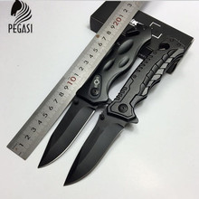 Protable Pocket Knife Mini Folding Blade Knife Metalworking Fold Hunting camping Outdoor Survival Tool Stainless Steel knife