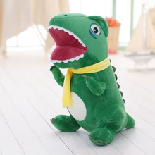 1pc 35cm Tyrannosaurus rex hold pillow doll plush toy dinosaur cartoon doll birthday gifts