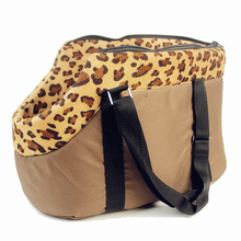 pet bag dog carrier ,travel carrying bag for dogs and cats leopard print small dog bag pink polka dots cat bag Camouflage Star(China)