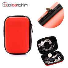 1PCS Portable Storage Bag Travel Sundries Earphone Data Line Cable Key Coin Container Organizer Fashion Box