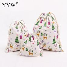 YYW 1PC Giraffe Jewelry Bags Pouches Cotton Fabric Bags Christmas Gift Bags Candy Jewelry Packaging Organza Bags & Pouches