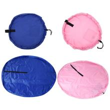 Fast Toy Storage Bag  Nylon Kid Pad Laundry Bags Baby Toy Bag Children Baby Play Outdoors Essentials  Pink and Blue