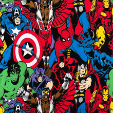 2017 Captain America&Hulk knitted cotton fabrics for patchwork cartoon cloth 190cm width 2 way stretch DIY Sewing baby clothes