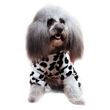 Cute Pet Dog Cat Clothes Funny Puppy Dairy Cow Costume Hoodie Dress(China)