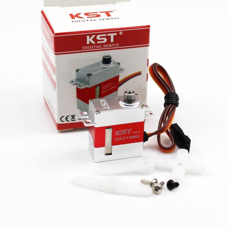 5Pcs KST DS215MG V3.0 Digital Metal Gear Swashplate Servo For 450 RC Helicopter<br>