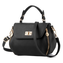 New PU Leather Rock Handbags Women Fashion Shoulder Bags Easy Matching For Various Occasions