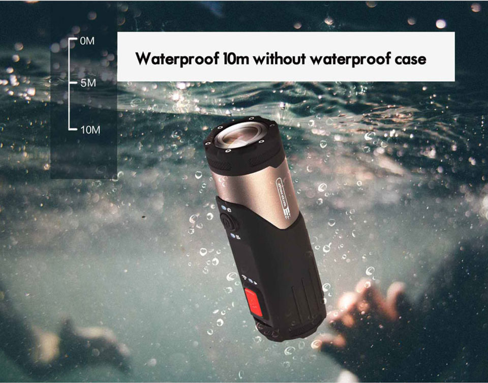 SOOCOO SWS Mini Camcorder Action Camera Built-in WiFi Full HD 1080P 10m Wateproof Sports Camera 8