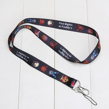 10pcs/lot FNAF Five Nights At Freddy's Lanyard Neck Strap for ID Pass Card Phones Camera MP3 Holder toy