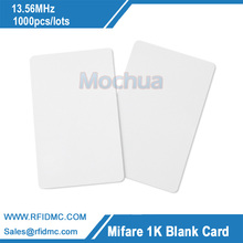 RFID Proximity Card 14443A 1k s50 Blank Card RFID Card 13.56MHz Induction--Free shipping