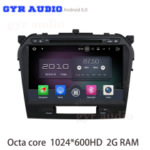 Android 6.0 Octa core Car dvd gps For suzuki Vitara 2015 2016 with 1024*600 Screen 2G Ram GPS Radio navi Stereo WIFI 4G USB