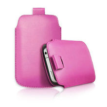 Leather PU phone bags cases Pouch Case Bag for BlackBerry Curve 8520 Cell Phone Accessories