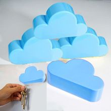High Quality home key holder Creative Home Shelveskey Cloud Shape Magnetic Magnets Key Holder key rack wall shelf