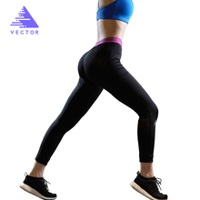 VECTOR Yoga Sports Leggings For Women Men Sports Tight Mesh Yoga Leggings Comprehension Yoga Pants Women Running Tights Women(China)