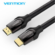 Vention HDMI to HDMI Cable 5m 3m 2m 1m Support 3D 4K HDMI Cable 2.0 1.4 for Projector wii TV Mac Golden HDMI Connector(China)