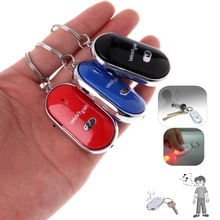 Anti Lost Keys Finder Whistle Locator Find Keys Chain With Alarm Tracker Device -W128(China)