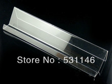 Wholesale 100pcs Single layer long shelf Mobile cell phone display stand,Clear Acrylic Mobile Phone Holder Rack FS2-2