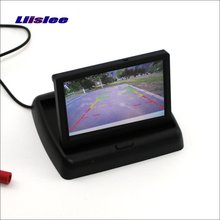 Liislee For Volkswagen VW Touran / Golf Touran Foldable Car HD TFT LCD Monitor Screen Display / NTSC PAL Color TV System(China)