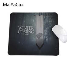 Make People Like The Winter To The Game Of Thrones Silicon Mat Mouse Pad Pad 180*220mm 200*250mm or 250*290mm(China)