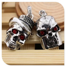 skull head USB 2.0 usb flash drives thumb pendrive u disk usb creativo memory stick 4GB 8GB 16GB 32GB 64GB S518
