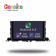 Octa Core Android 6.0 Car GPS for Toyota Highlander 2015 2016 Car radio head unit 2Gb Ram+32Gb Rom 64bit PX5 4G net