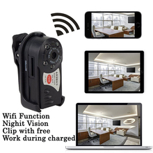 Mini Camara Wifi IP Q7 480P DV DVR Wireless Cam Brand New SP Young Video Camcorder Recorder Infrared Night Vision Espia Candid