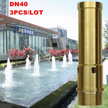 "China supplier G1.5"" DN40 brass water fountain nozzle, fountain nozzle for garden, lake, pond, pool"
