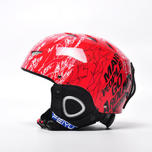 Skiing Helmet Autumn And Winter Adult Male Ladies snowboard Skiing helmet Equipment Snow Sports Saftly Security Helmets Skate(China)