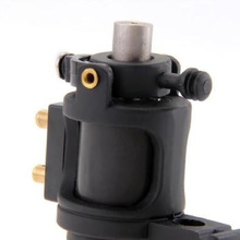 Powerfully Durable Rotary Motor Tattoo Machine Black Professional Low Noise Zinc Alloy Tattoo Gun