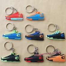 FREE SHIPPING by FEDEX 300pcs/lot Wholesale Kevin Durant KD 6 shoe keychains(China)