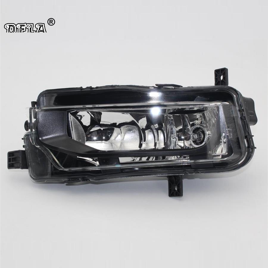 Left Side Car Light For VW T6 Transporter Multivan 2016 2017 2018 Car-Styling Fog Lamp Fog Light E-Mark Certificated E24<br>