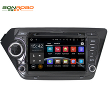 "8"" 2din Android 5.1.1 RK3188 Quad Core 1.6G*4 Cortex A9 Car DVD Player For Kia K2(2010-2012) Rio 3G Wifi Radio RDS DAB+ Free Map"