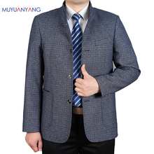 Mu Yuan Yang 2017 New Arrivals Casual Male Jackets Spring Men's Clothing 50% Off Men' s Jackets XXXL XXL Big Size High Quality(China)
