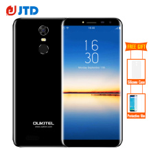 Oukitel C8 18:9 Infinity Display 5.5Inch Smartphone Android 7.0 3000mAh 2GB RAM 16GB MT6580 Quad Core Fingerprint 13MP Cellphone(China)