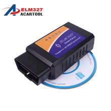 Hot Sale ELM 327 V 1.5 BT Interface Works On Android Torque Elm327 Bluetooth OBD2/OBD II/OBD 2 Diagnostic Tool Car Scanner Tool